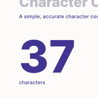 text character counter